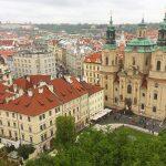 Uitzicht over Staroměstské náměstí