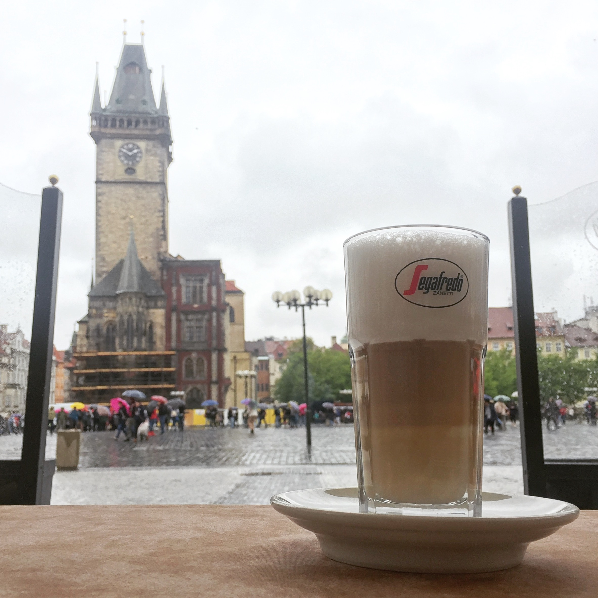 Coffee with a view Prague