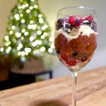 oreo trifle chocolademousse rode vruchten