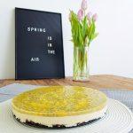 mango passievrucht cheesecake