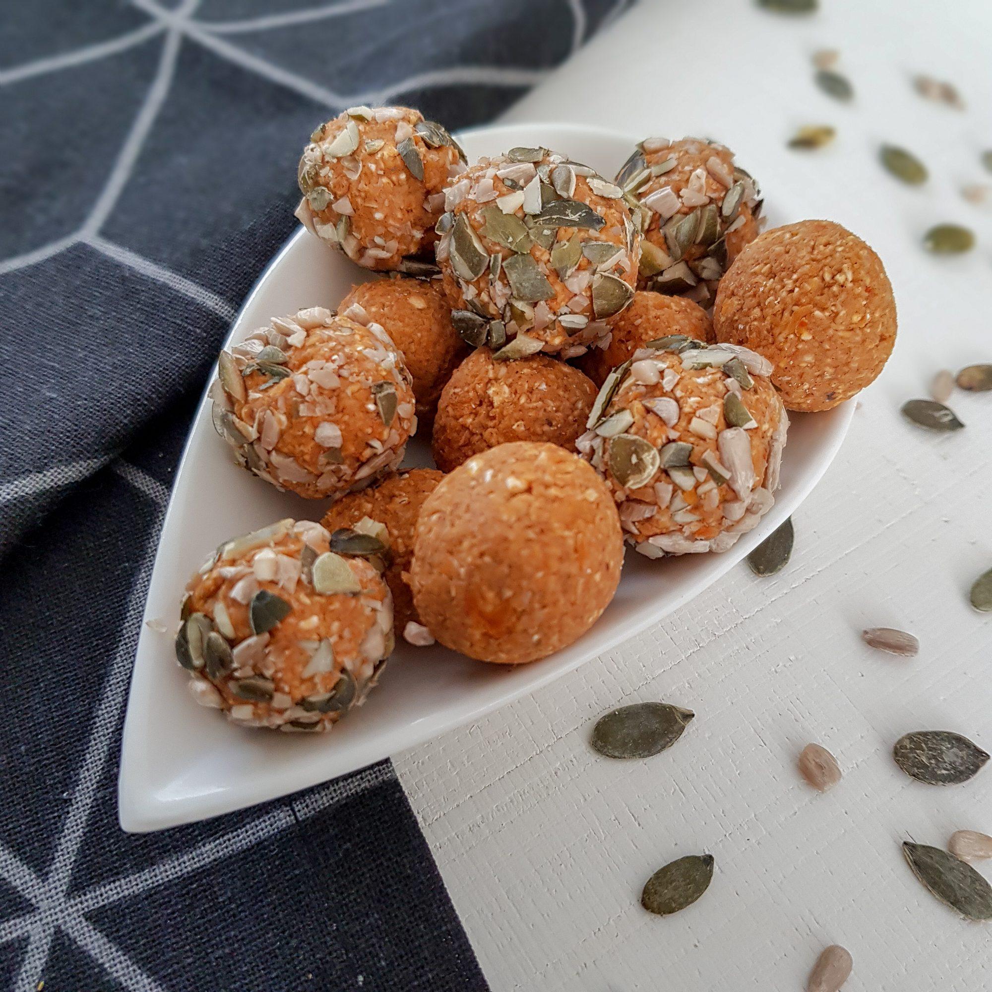 gezonde pompoenballetjes recept