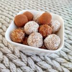 bliss balls dadels snack