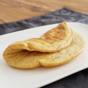 luchtige omelet - fluffy gebakken omelet spa rood
