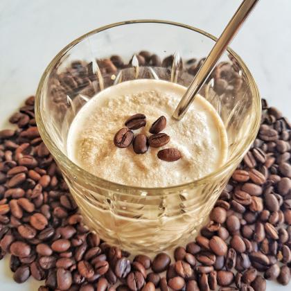 ijskoffie recept koffieshake